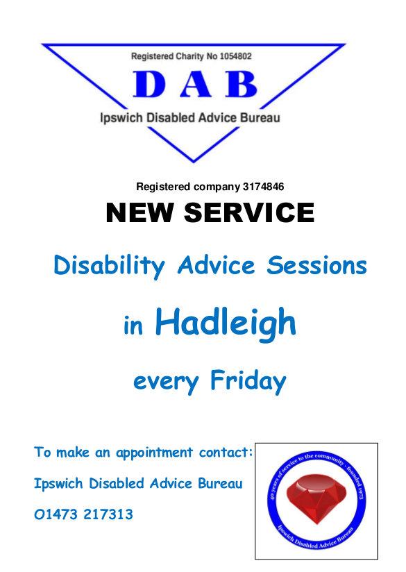 Hadleigh outreach flyer