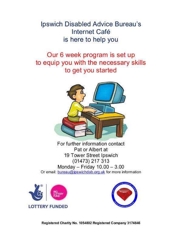 internet cafe poster
