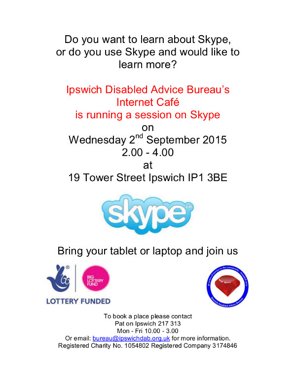 Skype Day poster