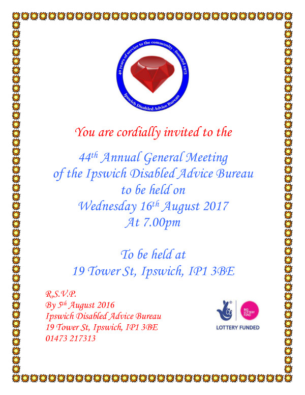 2017 agm invitation