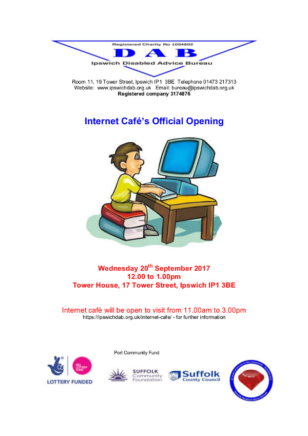 internet cafe opening